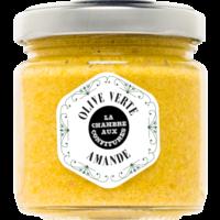 Tartinade  d'olive verte & Amande| La Chambre aux Confitures | 100g