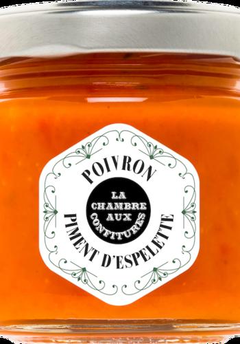 Tatrinade de poivron & piment d'Espelette| La Chambre aux Confitures | 100g