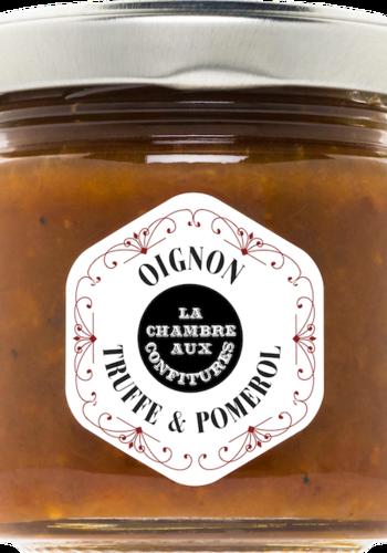 Confit d'oignon Truffe & Pomérol | La Chambre aux Confitures | 100g