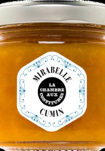 Confit de prine Mirabelle & Cumin| La Chambre aux Confitures | 100g