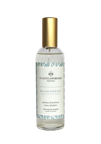 Parfum d'intérieur| Balade enneigée   |Plantes & Parfums Provence | 100ml