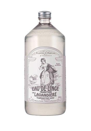 Eau de linge Fleur de coton   |Plantes & Parfums Provence |  1litre