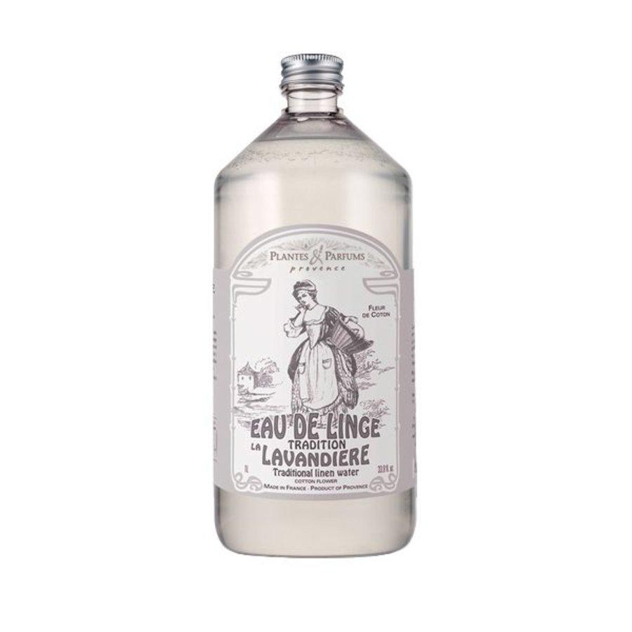 Eau de linge Fleur de coton    Plantes & Parfums Provence    1litre