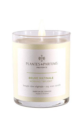 Bougie végétale parfumée | Brume Matinale | Plantes & Parfums Provence | 180g