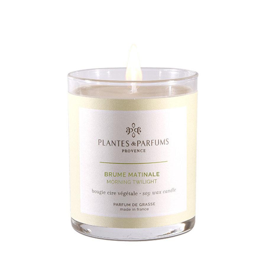 Bougie végétale parfumée   Brume Matinale   Plantes & Parfums Provence   180g