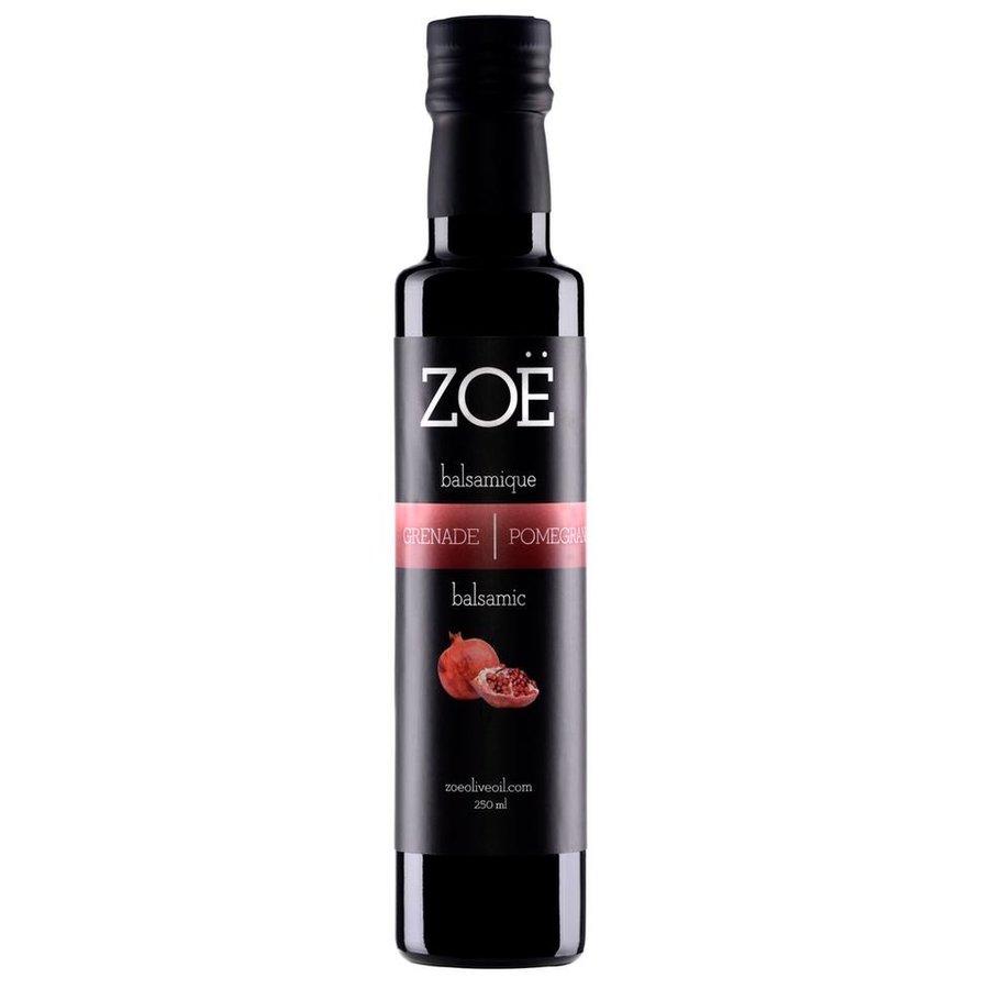 Vinaigre balsamique blanc infusé à la pomme grenade 250ml | Zoe