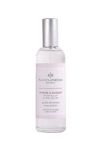 Parfum d'intérieur| Pivoine & Muguet   |Plantes & Parfums Provence | 100ml
