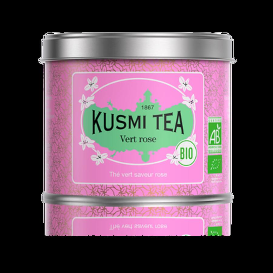 Thé vert à la Rose BIO | 100g|  Kusmi Tea