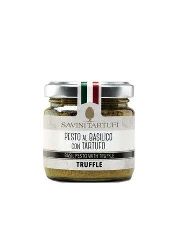 Pesto à la truffe et basilic | Savini 90g