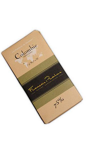 Barre de chocolat noir 75% | Colombie - Trinitario | François Pralus | 100g