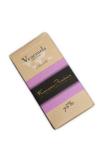Barre de chocolat noir 75% | Vénezuela - Trinitario | François Pralus | 100g