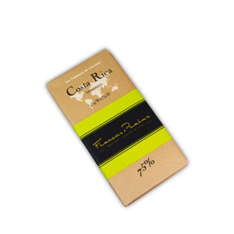 Barre de chocolat noir 75% | Costa Rica - Trinitario | François Pralus | 100g