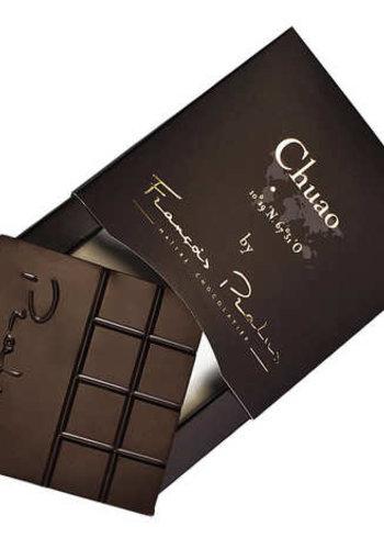 Barre de chocolat noir 75% | Pure Origine Chuao - Fèves Trinitario | François Pralus | 50g