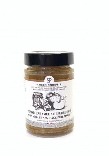 Pomme Caramel au Beurre salé Calvados - 15 ans d'âge Père Maheu  | Maison Perrotte | 220gr