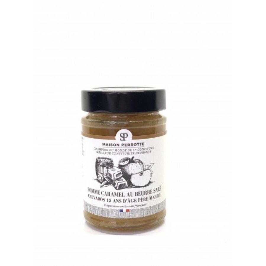 Pomme Caramel au beurre salé  Calvados 15 ans d'âge père Maheu 220gr | Maison Perrotte