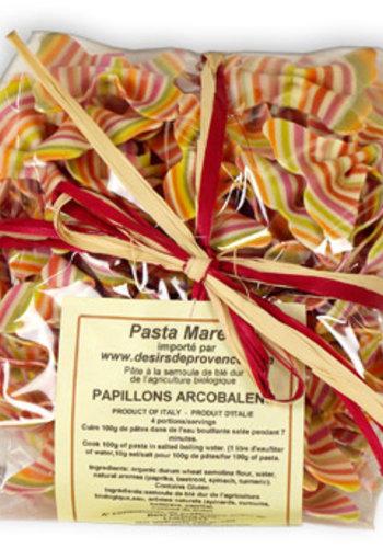 Pâtes Papillons Arc en Ciel   Pasta Marella   250g