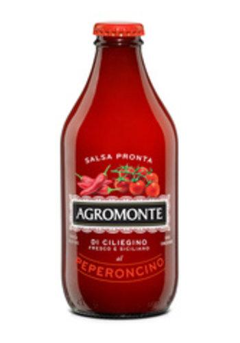 Salsa pour pâtes aux Tomates cerises et Piments forts| Agromonte | 320ml