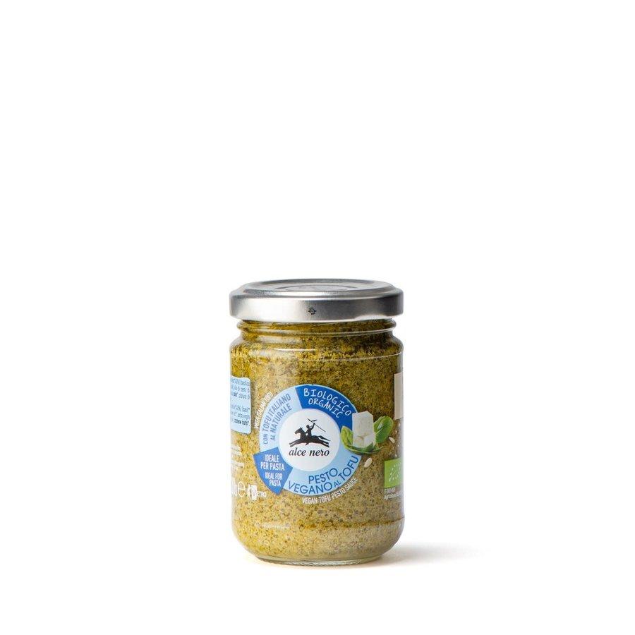 Pesto végan au tofu biologique et basilic | Alce Nero | 130g