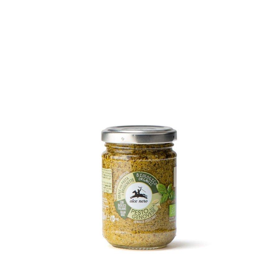 Pesto alla genovese – sauce au basilic biologique | Alce Nero | 130gr