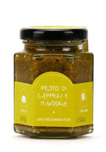 Pesto de câpres et amandes | La Nicchia - 100g