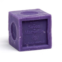 Savon Cube Parfumé à Huiles essentielles de lavande - La Maison du Savon de Marseille - 300gr