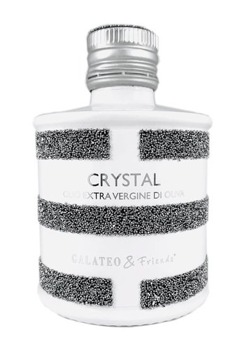 Huile d'olive Crystal - Bouteille Swaroski | Galateo & Friend | 250 ml