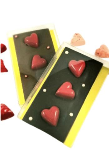 Tablette Coeur | Morel Chocolatier | 100g