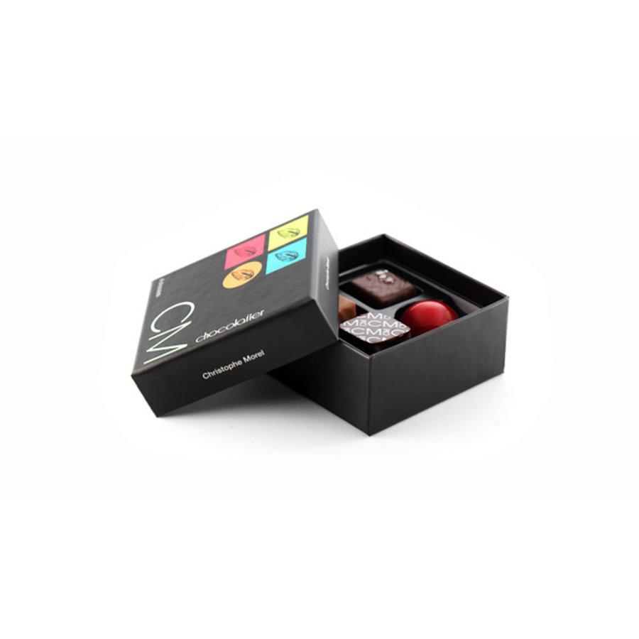 Boite 4 chocolats  | Morel Chocolatier