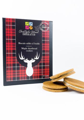 Biscuits Sablé caramel érable | Morel Chocolatier