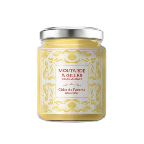 Moutarde à Gilles au cidre de pomme  Les Passions de Manon - 130g