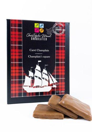 Biscuits carré Champlain | Morel Chocolatier