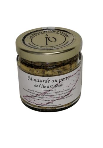 Moutarde pesto | Délices de l'Île d'Orléans | 125ml
