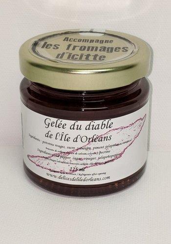 Gelée du diable 125ml |Délices de l'Île d'Orléans