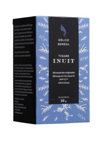 Tisanes Inuits - Boite de 20 sachets mélange Artique