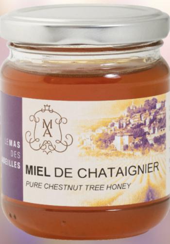 Miel de Chataignier | Le Mas des Abeilles | 250 g