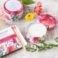 Chandelle Primavera Spring Flowers | Via Mercato | 85g