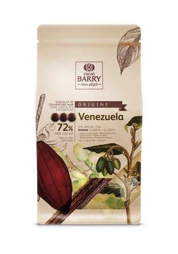 Chocolat Noir 72% Pistoles Origine Venezuela 1kg Barry 2 de 12