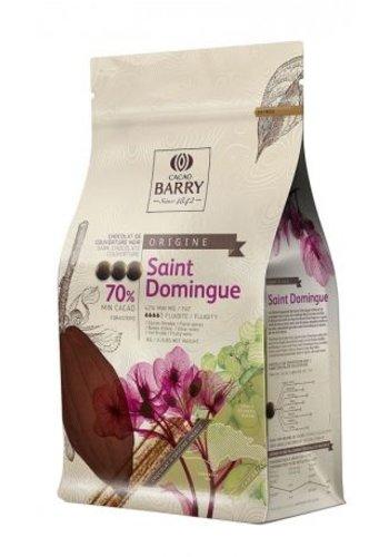 Chocolat Noir 70% Origine St-Domingue 1kg | Barry