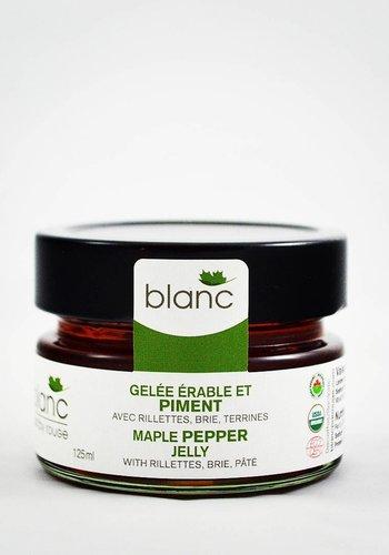 Gelée Érable et Piment | Blanc par rouge | 125ml