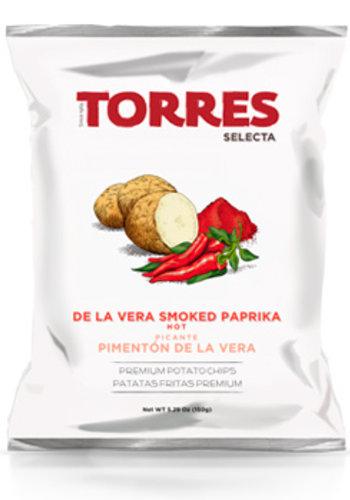 Croustilles Paprika fumé de la Verra épicé  125g  Torres