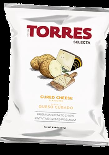 Croustilles Fromage affiné 125g  Torres