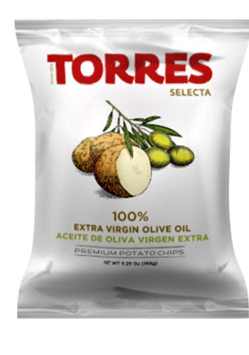 Croustilles à l'huile d'olive   Torres   125g