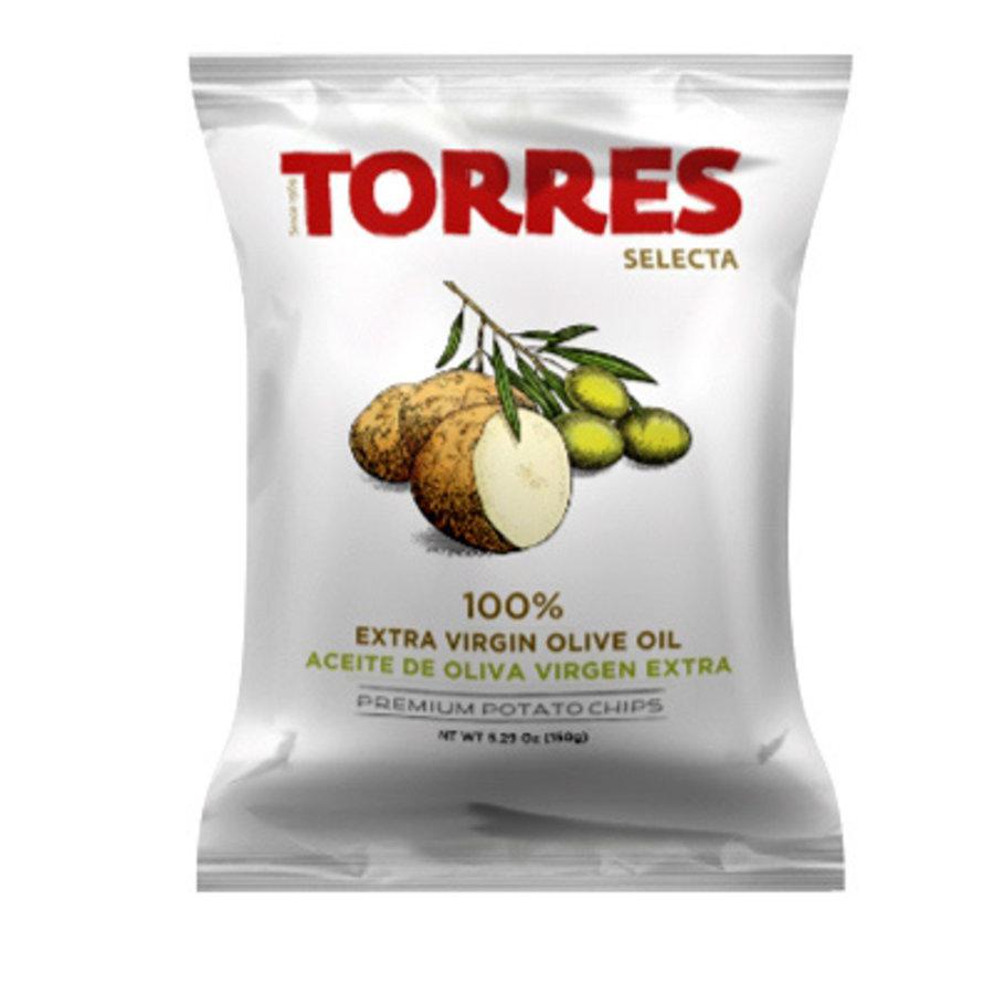 Croustilles  à l'huile d'olive 125g |Torres