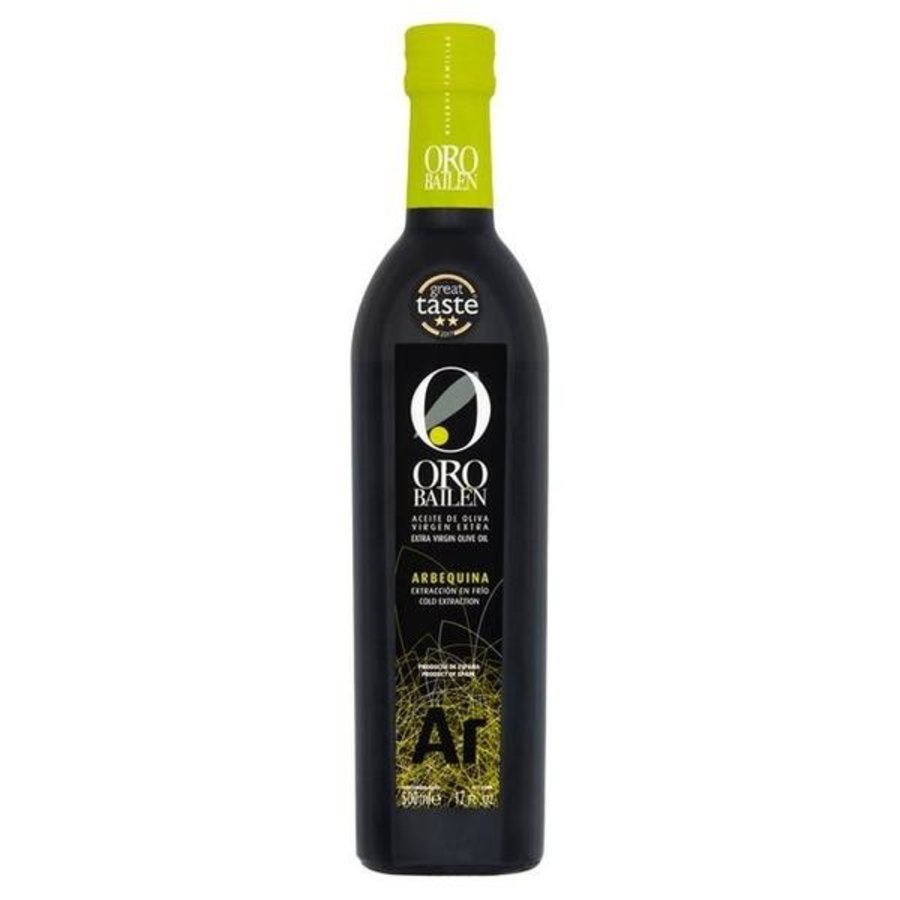 Huile d'olive extra vierge  Arbequina 500ml | Oro bailen