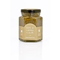 Tapenade de câpres et olives   La Nicchia   100g