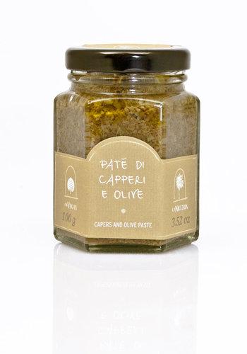 Tapenade de  câpres et olives | 100g |La Nicchia