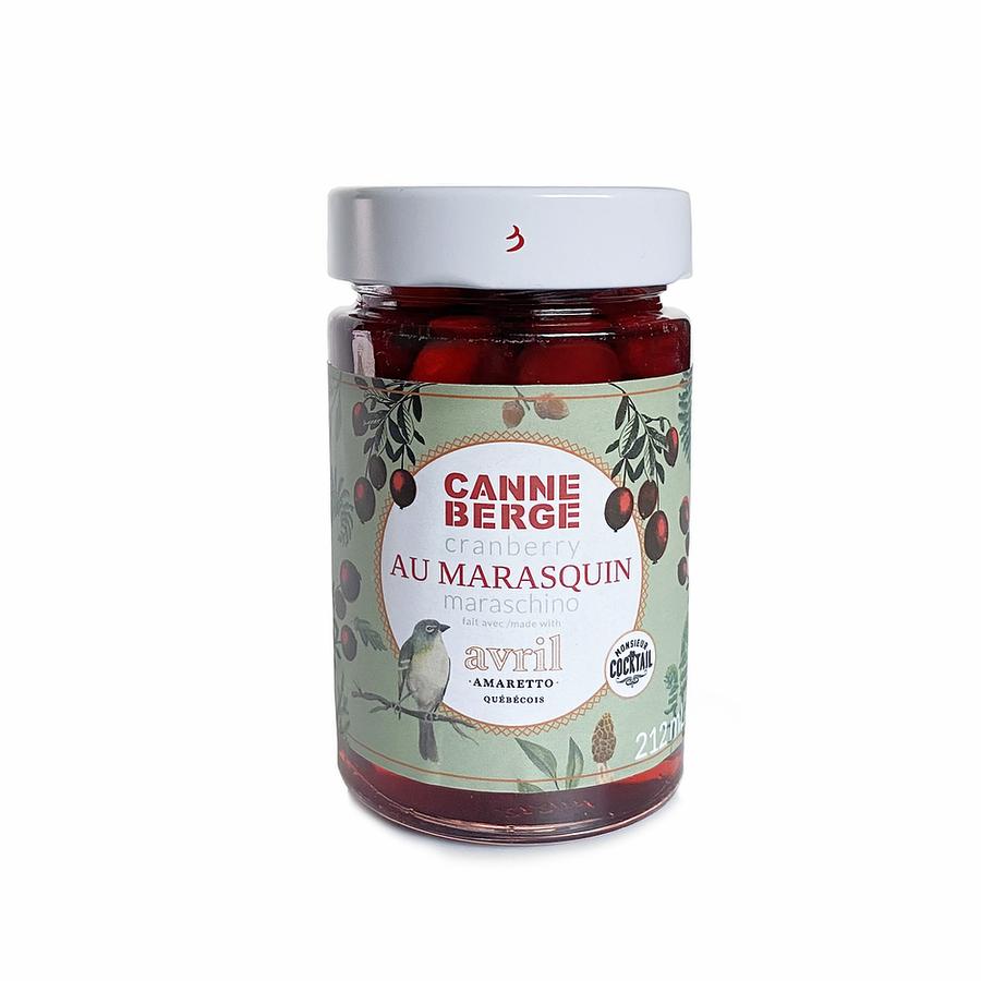 Canneberge au marasquin | Nutra Fruit | 212 ml