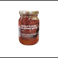 Gelée à la pulpe de piment Gorria 140g |Le Jardin des Chefs|