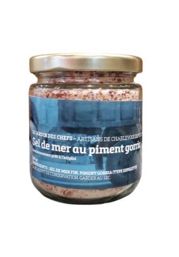 Sel de mer au Piment Gorria   Le Jardin des Chefs    250gr