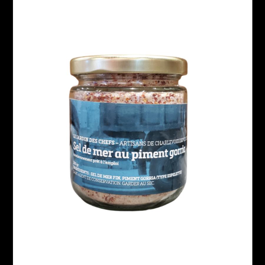 Sel de mer au  Piment Gorria   Le Jardin des Chefs   250 g